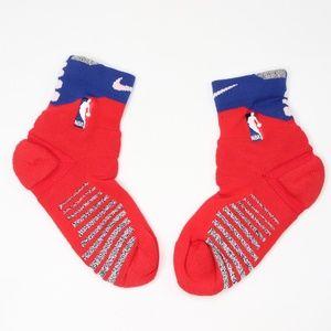 New Nike Team Issued Detroit Pistons Ankle Socks L